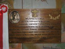 Czytaj więcej: Poświęcenie tablicy ppor. Władysława Cieśli