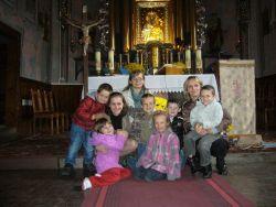 Zdjęcie z Panią Gretą Olszewską, poprzednią katechetką.